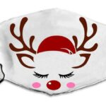 Reindeer with a red hat